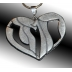 "Heart is shaped from Hebrew text ""Strength"""