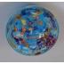 Yahrzeit  Candle Holder-Light Blue