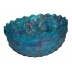Faceted Turquoise Bowl
