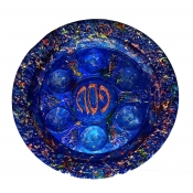 """Upcycled Seder Plate -14"""""""